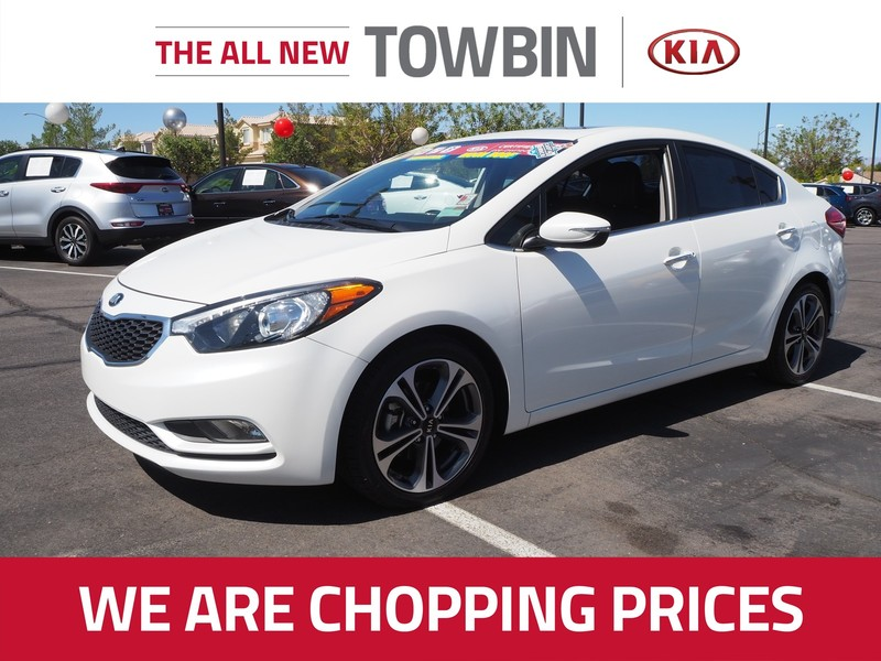 Kia Certified Pre-Owned >> Certified Pre Owned 2016 Kia Forte Ex Premium Front Wheel Drive 4dr