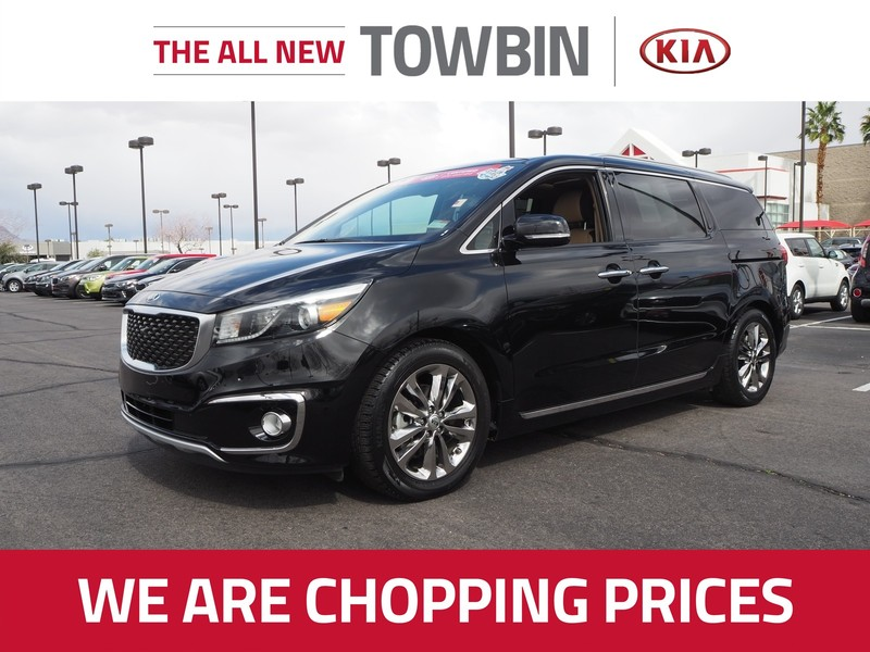 Certified Pre-Owned 2017 KIA SEDONA SX LIMITED
