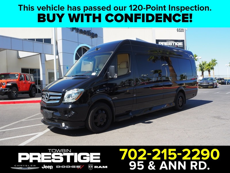Pre-Owned 2016 MERCEDES-BENZ SPRINTER CUSTOM TOURING COACH
