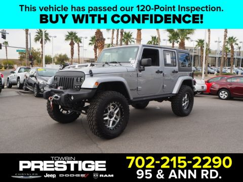 Pre-Owned 2017 JEEP WRANGLER UNLMTED SAHARA
