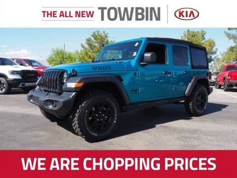 Pre-Owned 2020 JEEP WRANGLER SPORT 4X4 Four Wheel Drive 5DR