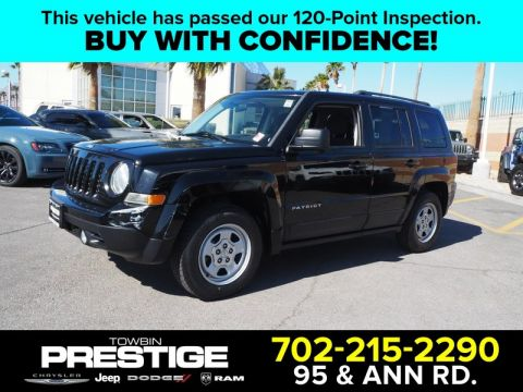 Pre-Owned 2013 JEEP PATRIOT SPORT Front Wheel Drive 5DR