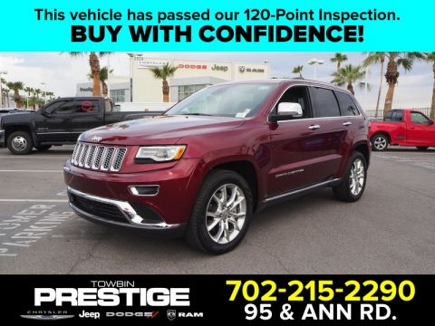 Pre-Owned 2016 JEEP GRAND CHEROKEE SUMMIT 4X4