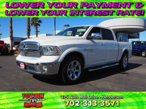 Pre-Owned 2017 RAM 1500 LARAMIE 4X4 With Navigation