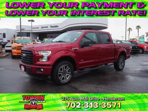 Pre-Owned 2015 FORD F-150 XLT FX4 4X4 Four Wheel Drive CREW