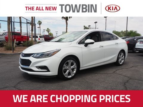 Pre-Owned 2017 CHEVROLET CRUZE PREMIER Front Wheel Drive 4DR