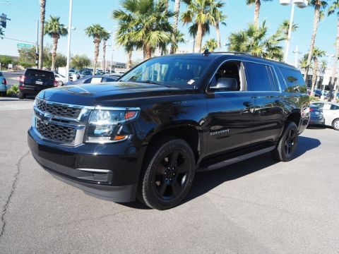 Pre-Owned 2018 CHEVROLET SUBURBAN LT 4X4 Four Wheel Drive 5DR