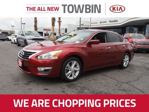 Pre-Owned 2014 NISSAN ALTIMA 2.5 SV Front Wheel Drive 4DR