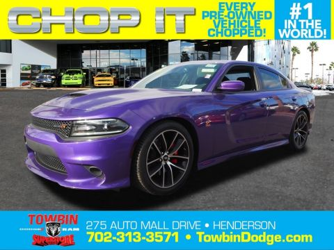 Pre-Owned 2016 DODGE CHARGER R/T SCAT