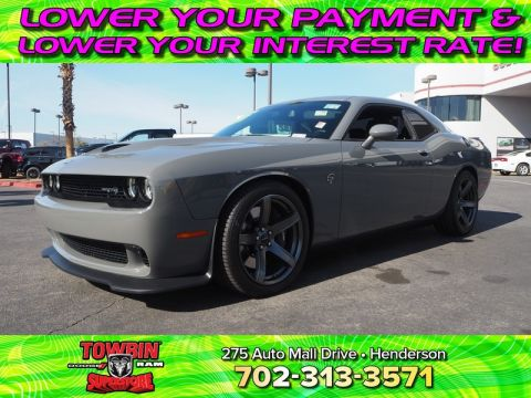Pre-Owned 2018 DODGE CHALLENGER SRT HELLCAT Rear Wheel Drive 2DR