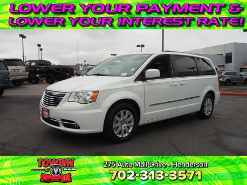 Pre-Owned 2015 CHRYSLER TOWN & COUNTRY TOURING Front Wheel Drive VAN