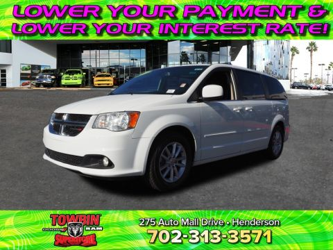 Pre-Owned 2017 DODGE GRAND CARAVAN SXT Front Wheel Drive VAN