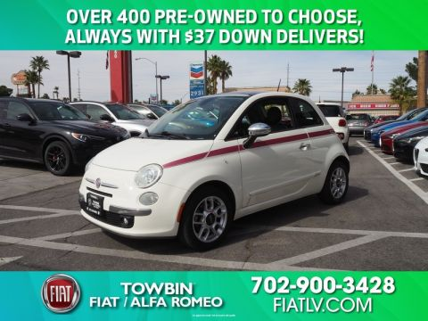 Pre-Owned 2012 FIAT 500 LOUNGE Front Wheel Drive 3DR