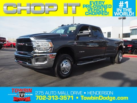 Pre-Owned 2019 RAM 3500 BIG HORN Four Wheel Drive Long Bed
