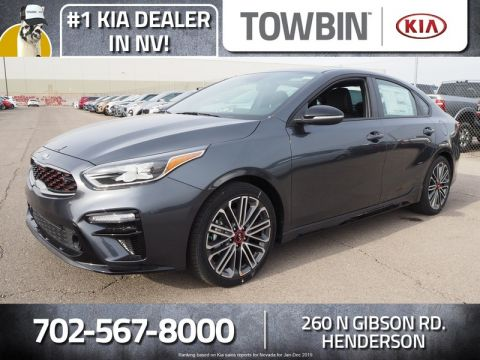 New 2020 Kia Forte GT FWD 4D Sedan