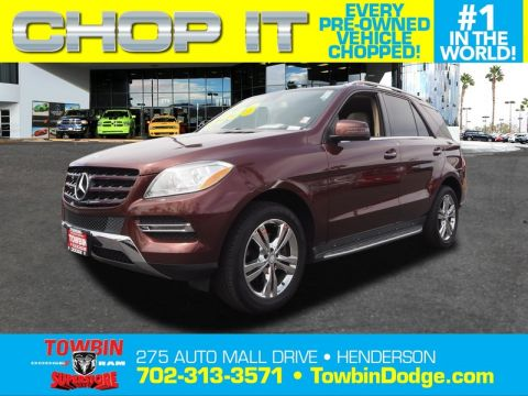 Pre-Owned 2013 MERCEDES-BENZ ML350 PREMIUM 1