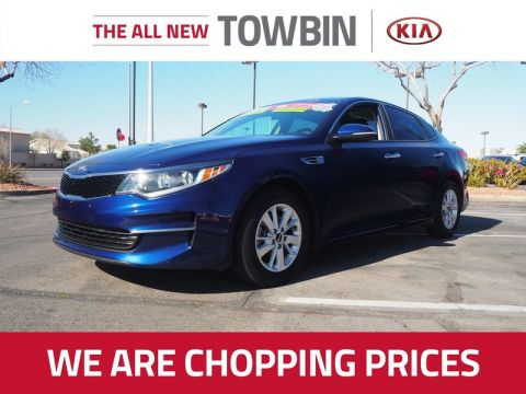 Certified Pre-Owned 2018 Kia Optima LX FWD 4D Sedan