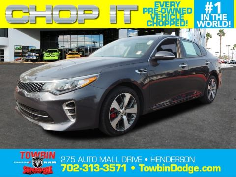 Pre-Owned 2017 KIA OPTIMA SX 2.0T
