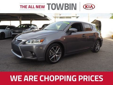 Pre-Owned 2015 LEXUS CT 200H NAVIGATION Front Wheel Drive 5DR