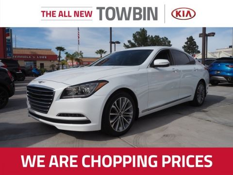 Pre-Owned 2017 GENESIS G80 3.8 With Navigation