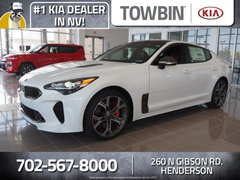 New 2020 Kia Stinger GT1 With Navigation