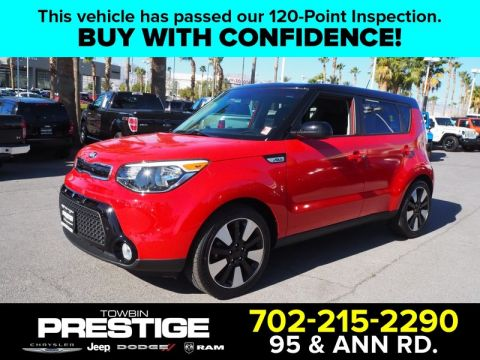 Pre-Owned 2016 KIA SOUL + Front Wheel Drive 5DR