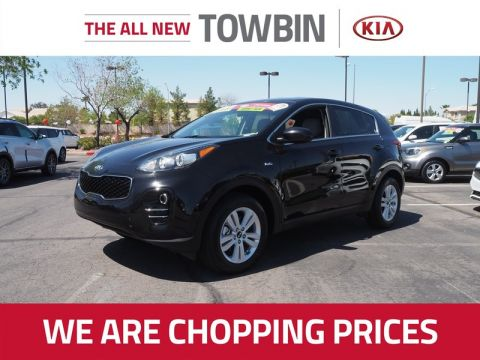 Certified Pre-Owned 2017 Kia Sportage LX AWD
