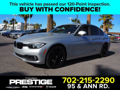 Pre-Owned 2017 BMW 320 I Rear Wheel Drive 4DR
