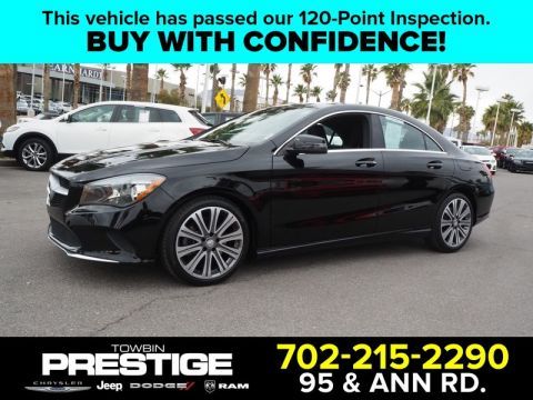 Pre-Owned 2017 MERCEDES-BENZ CLA CLA 250 COUPE Front Wheel Drive Coupe