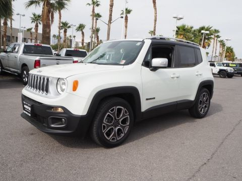 Pre-Owned 2017 JEEP RENEGADE LIMITED Front Wheel Drive 5DR