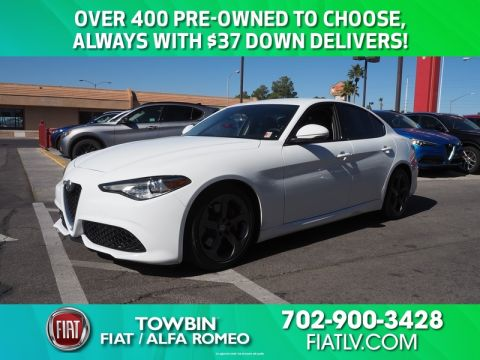Pre-Owned 2018 Alfa Romeo GIULIA Rear Wheel Drive 4DR